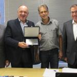 No mês de fevereiro o nosso gerente comercial, Ricardo Rossi, se despediu da presidência da CSMAT.