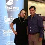 Diretor-presidente do FCEM|Febratex Group marcou presença no Ceará Fashion Trade